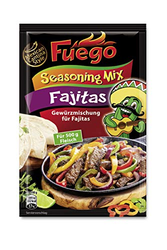 Fuego Fajita Seasoning Mix, 1er Pack (1 x 35 g)