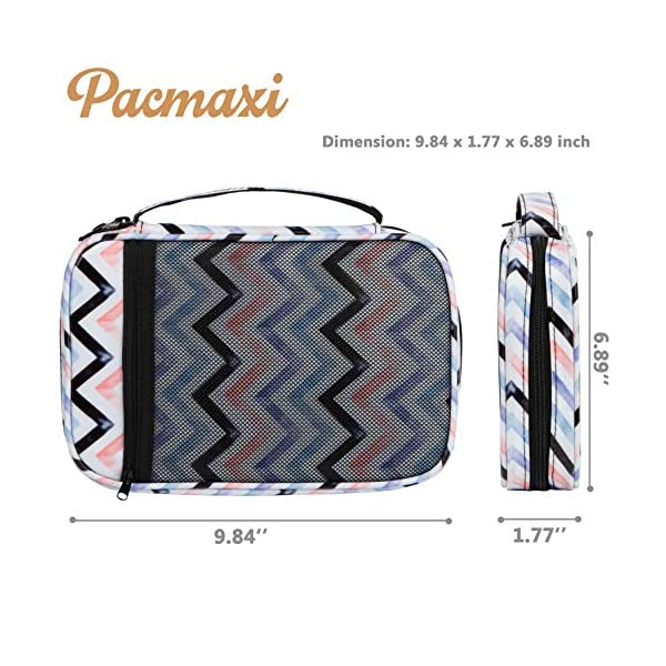 PACMAXI 36 Watch Bands Storage Carrying Case Compatible with Watches, Watch Band Holder Stores 36 Watch Bands Fit for The Most Sizes of Watch Straps, Organizer for Watch Bands Accessories