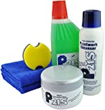 P21S 100% Carnauba Wax, Paintwork, Bodywork and Microfiber Combo