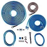Skar Audio 8 Gauge CCA Complete Amplifier Installation Wiring Kit, SKAR8MANL-CCA