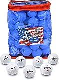 Second Chance 100-B-BAG - Set de 100 Bolas de Golf recuperadas de Lagos Americanos y Bolsa de Almacenamiento de PVC