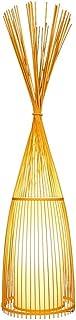 Japon Style Main en Bois Lampadaire en Bambou Lampadaires Créative Debout Lampes for Salon Étude Chambre Teahouse Club H93...