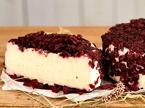 Brillat Savarin Käse mit Cranberry - Süß & vollmundig - Weichkäse aus Frankreich