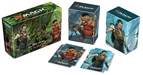 Ultra Pro Magic The Gathering Elves vs Inventors Duel Deck Box
