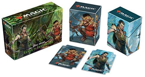 """Ultra Pro Magic: The Gathering Duel Deck """"Elves vs Inventors"""" Deck Box"""