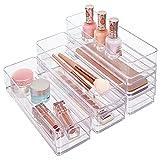 STORi Clear Plastic Drawer Organizers 9' x 3' x 2'  ...