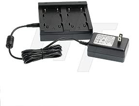 BC-30D 54344 Battery Dual Charger Power Adapter for Trimble GPS 5700,5800,R7,R8 GNSS Series, Topcon BT-62Q BT-65Q BT-66Q