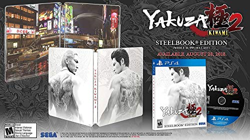 Yakuza Kiwami 2 - Steelbook Edition - PlayStation 4