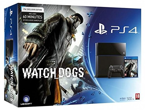 Sony Playstation 4 / PS4 + Watch Dogs (Bundle)