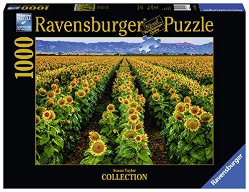 Ravensburger Puzzle, Puzzle 1000 Pezzi, Campo di Girasoli, Puzzle per Adulti, Puzzle Susan Taylor, Puzzle Paesaggi, Puzzle Ravensburger - Stampa di Alta Qualità