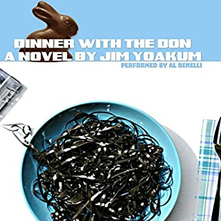 Dinner with the Don audiobook cover art