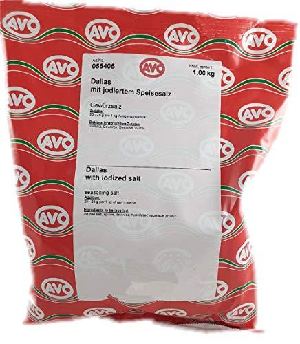 AVO - Dallas Grill-Spieß-Rollbraten Gewürz, 1 kg Beutel