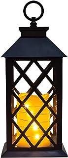 shine4FUN - Farol de Cristal para Vela (Funciona con Pilas,