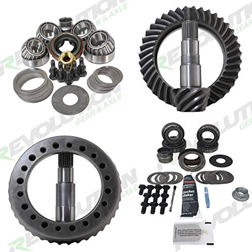 Revolution Gear & Axle - Toyota 4cyl IFS 86-89 Gear Package (8/7.5) with 5.29 Front and Rear Gears and Koyo Master Kits