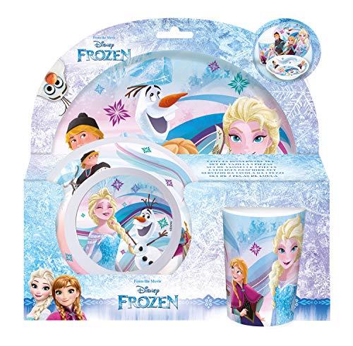 POS p:os 23873088 Disney Frozen Set de 3 Déjeuner