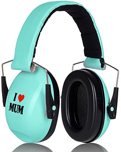 I Love Mum Prime Deal Gehörschutz Kinder SkyBlue Verstellbar Baby ab 12 Monate