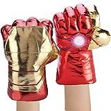 ELITEVER Superhero Gloves Smash Fists Plush Hands, Kids Costumes Accessories