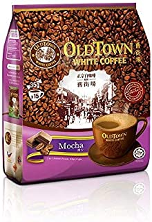Malaysia Old Town White Coffee/Mocha Flavor/Perfect Union Of Cocoa 'n White Coffee Blend/Irresistible Coffee Treat/Perfect Coffee Fix On-The-Go/15s x 35g