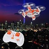 Cheerson CX-10C Mini 2.4G 4CH 6 Axis Nano RC Quadcopter with Camera -Orange