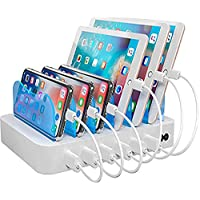 Hercules Tuff Charging Station with 6 USB Fast Ports and Short Cables