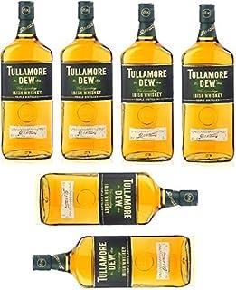 6 Flaschen Tullamore Dew irish Whiskey a 1000ml 6x1l 40% Vol.