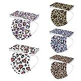 50pcs 𝙢𝙖𝙨𝙘𝙖𝙧𝙞𝙡𝙡𝙖 para El Día De San Valentín, Love Hearts Print 3ply Face Covering Protection para Mujeres Hombres, Parejas 𝙢𝙖𝙨𝙘𝙖𝙧𝙞𝙡𝙡𝙖