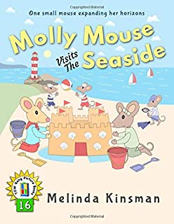 Molly Mouse Visits The Seaside: U.S. English Edition - Fun Rhyming Bedtime Story - Picture Book / Beginner Reader (Ages 3-6) (Top of the Wardrobe Gang Picture Books)
