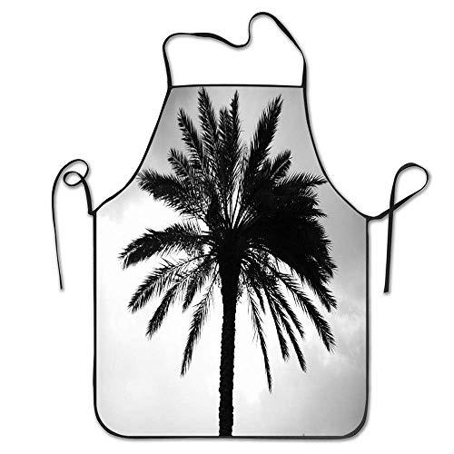 Palmöl Baum Clip Art Lätzchen Schürze-schwarz Schürze Maschinenwaschbar Für die Küche Crafting Schürzen