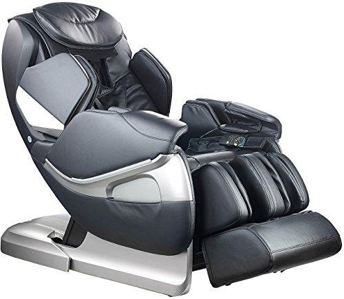 Newgen Medicals Ganzkörpermassagesessel: Ganzkörper-Massagesessel GMS-300.bt mit Bluetooth, schwarz (Profi Massagesessel)
