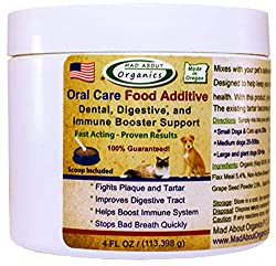 Mad About Organics Food Additive - Best Dog Teeth Cleaning Products