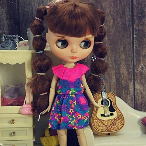 leoglint Blythe Doll Clothing Dress Clothes for Blythe Doll 30 cm 1/6 Bjd Dolls Azone ICY Licca Doll