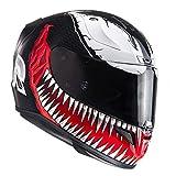 HJC Rpha 11Marvel Venom Moto Casco