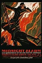 Firefighter Fireman Midnight Alarm Madison Square Garden New York Fire Department 20