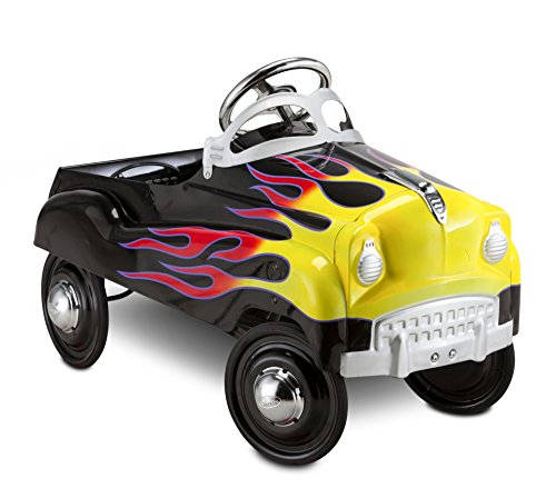 InStep Kids Toy Pedal Car, Toddler Push and Ride On Toy, Street Rod