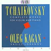 Complete Works for Violin & Piano by PETER TCHAIKOVSKY (1995-02-01)