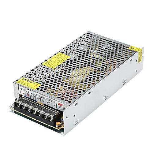 KKmoon voeding adapter stroomomvormer AC 110V / 220V naar DC 24V 10A 120W LED-strip lamp schakelomvormer converter driver AC 110V / 220V zu DC 12V 10A 120W