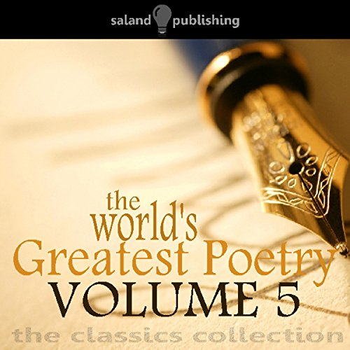 The World's Greatest Poetry Volume 5 audiobook cover art
