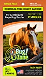 0Bug!Zone Horse Fly and Mosquito Barrier Tag, Single