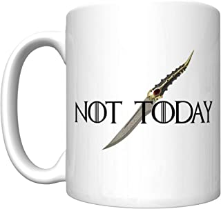 Not Today With The Catspaw Dagger (Arya Stark, Game of Thrones) [D] Coffee Mug