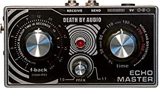 Death by Audio Echo Master Vocal Delay Effect Pedal