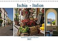 Ischia - Italien (Wandkalender 2022 DIN A4 quer): Ansichten einer wundervollen Insel (Monatskalender, 14 Seiten )