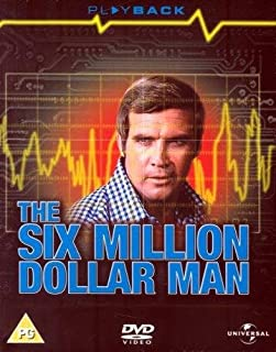 The Six Million Dollar Man - Entire Series 1 and 2 (12 DVD BOX SET) [NON-USA FORMAT, PAL REGION 2, IMPORT]