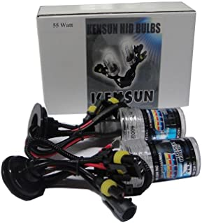 Kensun HID Xenon 55 Watt Replacement Bulbs H7 - 6000K