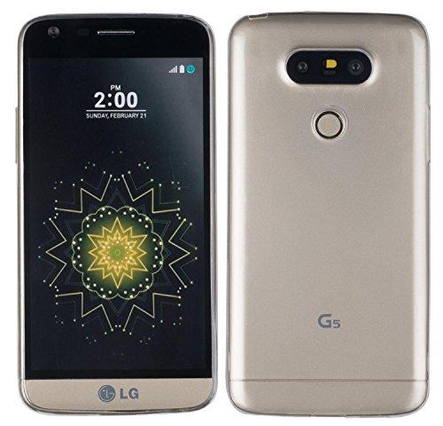 yayago Schutzhülle für LG G5 / LG G5 SE/LG G5 Lite Hülle UltraSlim (0,8mm) Transparent