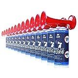 AAB Cooling Signal Gas Horn 400ml - Conjunto de 12 - Fanfarria Muy Fuerte, Bocina de Aire Comprimido, Bicicleta Segunda Mano, Car Horn, Bocina Portatil, Bocina Spray