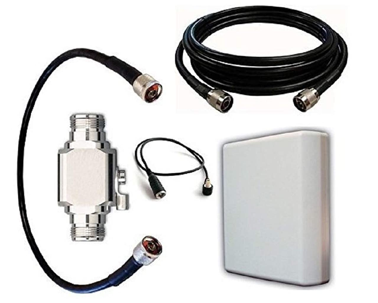 High Power Antenna Kit for Verizon LG VL600 USB Modem with Panel Antenna and 50 ft Cable