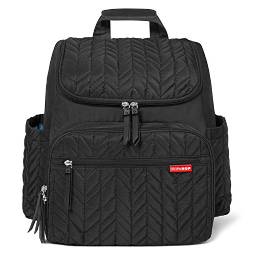 Skip Hop Forma Changing Backpack, Jet Black