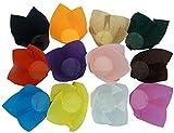 Scrumptious Sprinkles Mehrfarbige Tulpen-Muffin-Formen, 200Stück