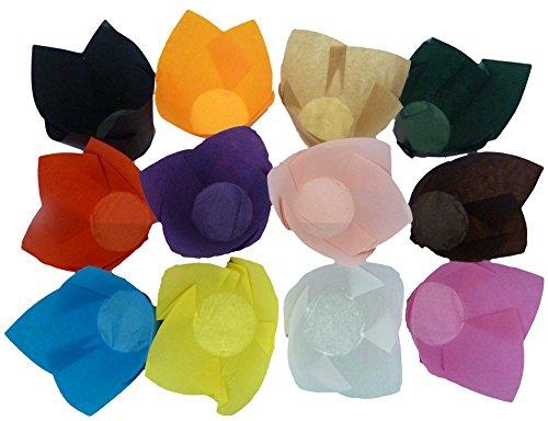 Scrumptious Sprinkles – Caissettes à Muffins Tulipe Multicolores, Lot de 200