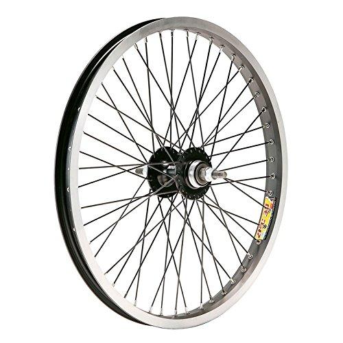 Gurpil 64236 Rueda, Trasero, BMX, 20 x 2.125, Carrete Aluminio, Eje 9.5-36